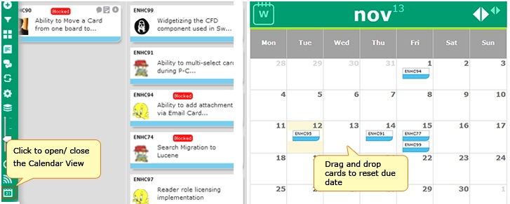 Who needs a Calendar in a Kanban system?!